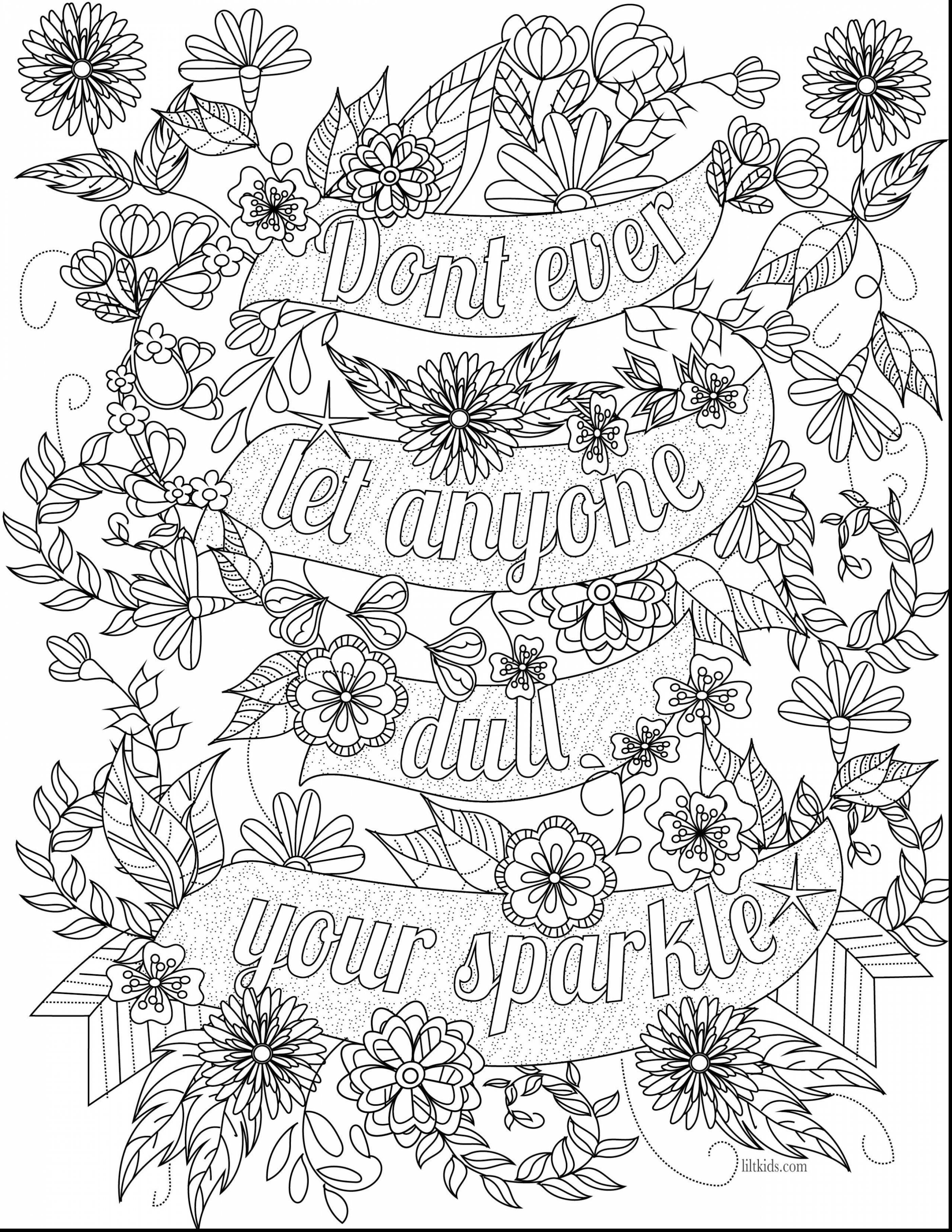 Remarkable Inspirational Adult Coloring Book Pages With Quotes