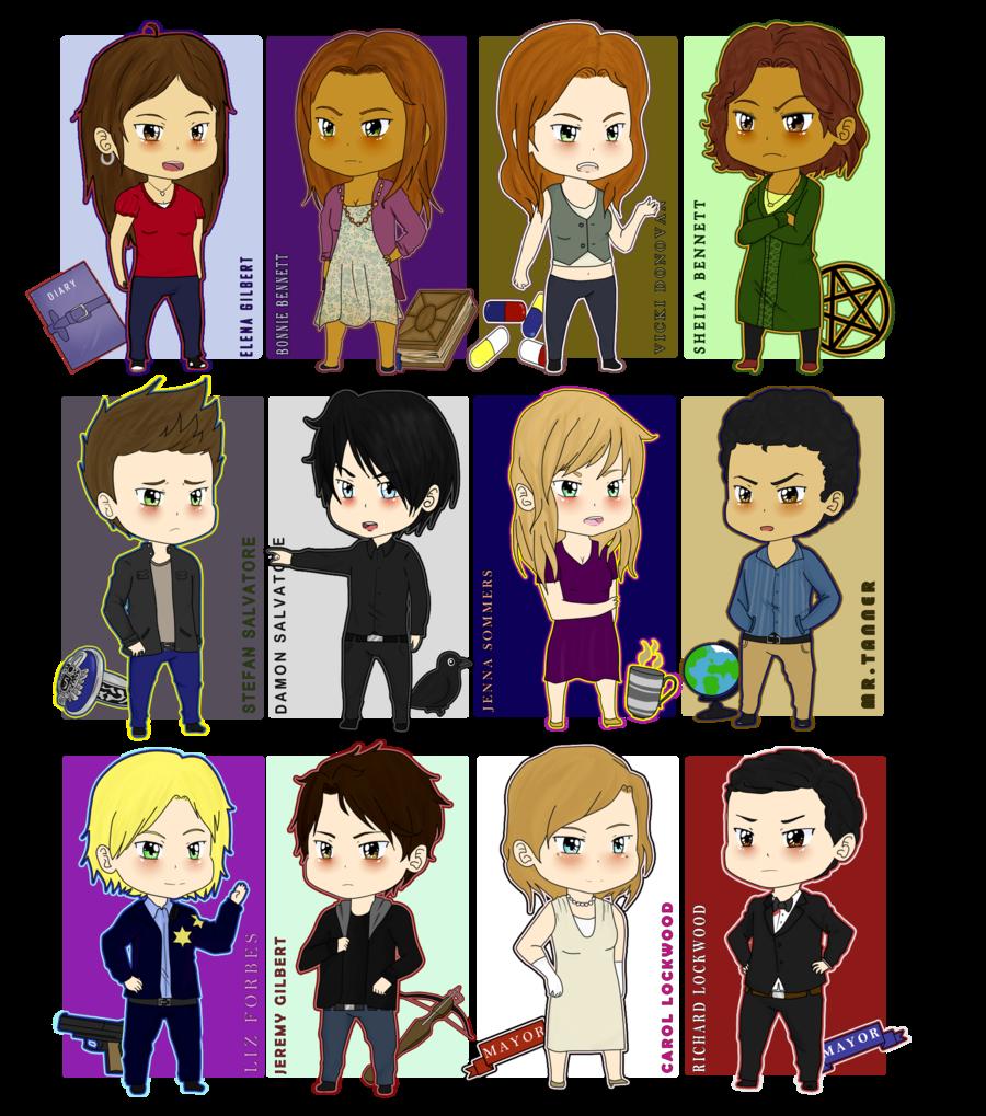 +-+TVD Characters part1+-+ by ShadowDark1.deviantart.com on @deviantART