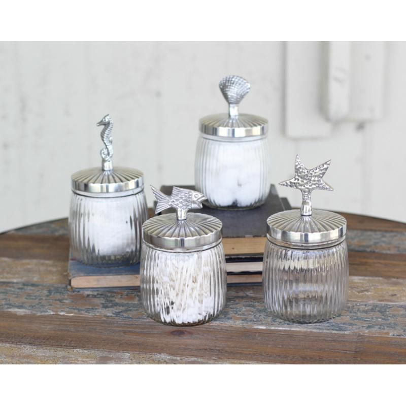 beach kitchen canisters