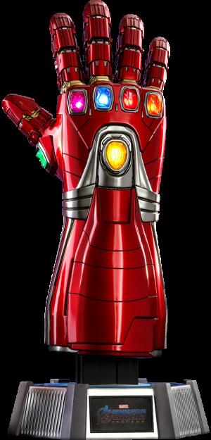 Nano Gauntlet Life Size Replica Hot Toys Iron Man Marvel Collectibles Iron Man