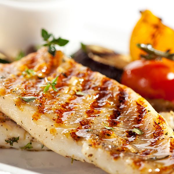 A heart healthy recipe you will love lemony grilled for Grilled white fish recipes
