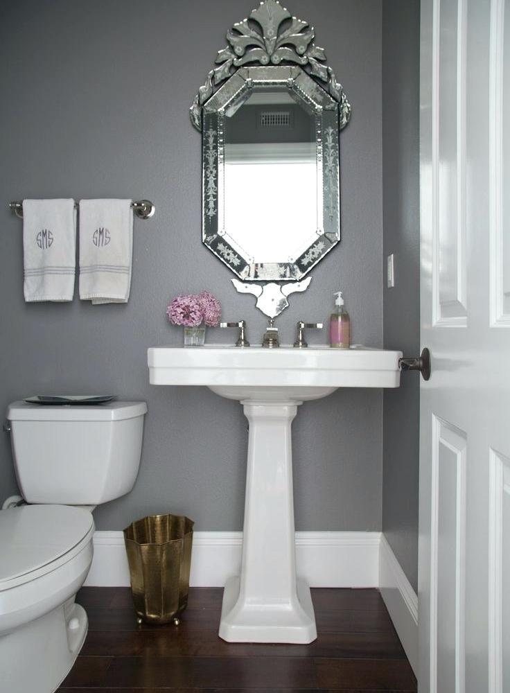 25 Bathroom Mirror Ideas To Refresh Your Space Powder Room