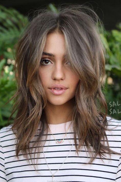 18 Beste Haarfarbe Ideen für Brünette | Schonheit.info #haircolorideasforbrunettes