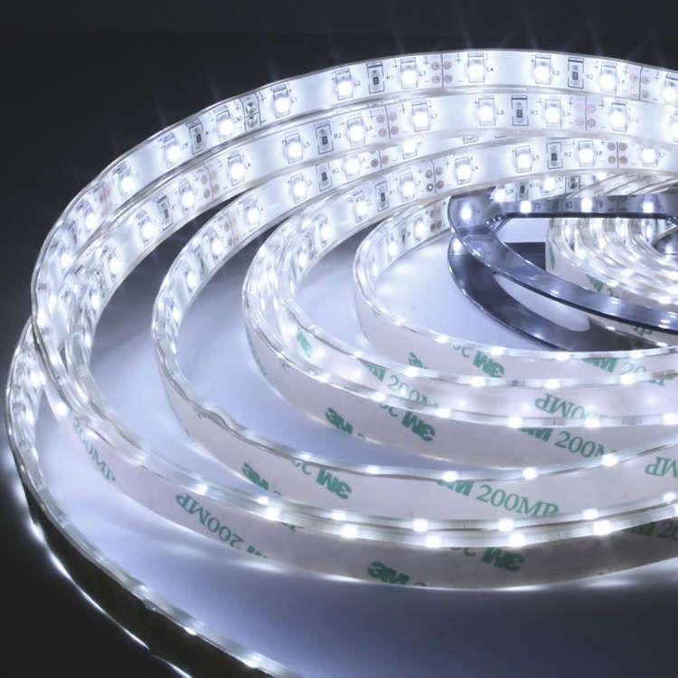 5m flexibler LED-Streifen Strip 300 x SMD LEDs - weiß - wasserfe - led leisten küche