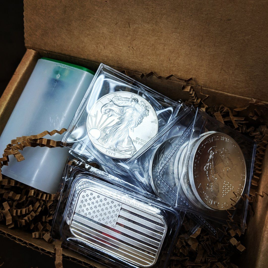 Silver Starter Pack Silver Bullion Silver Bars Gold And Silver Coins