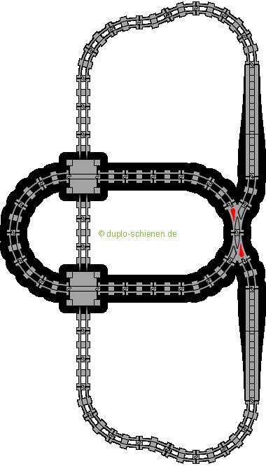 Lego Bauplan. Awesome Lego V Eisenbahn Gelber Bahnhof With