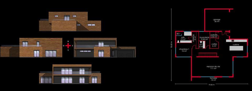 Booa Loov6 278m2 Un rêve réalisé en 3 mois  C\u0027est un grand - qu est ce qu une maison bioclimatique