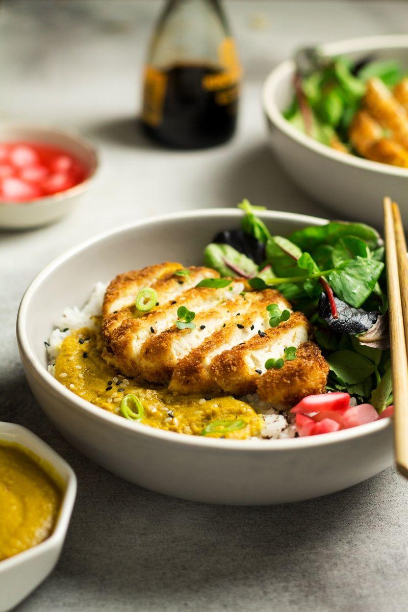 Vegan Katsu Curry With Tofu