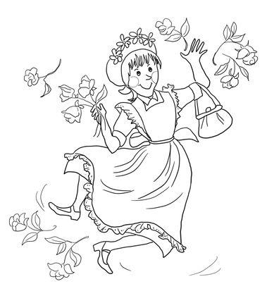 Amelia Bedelia coloring page   Reading Project   Amelia ...