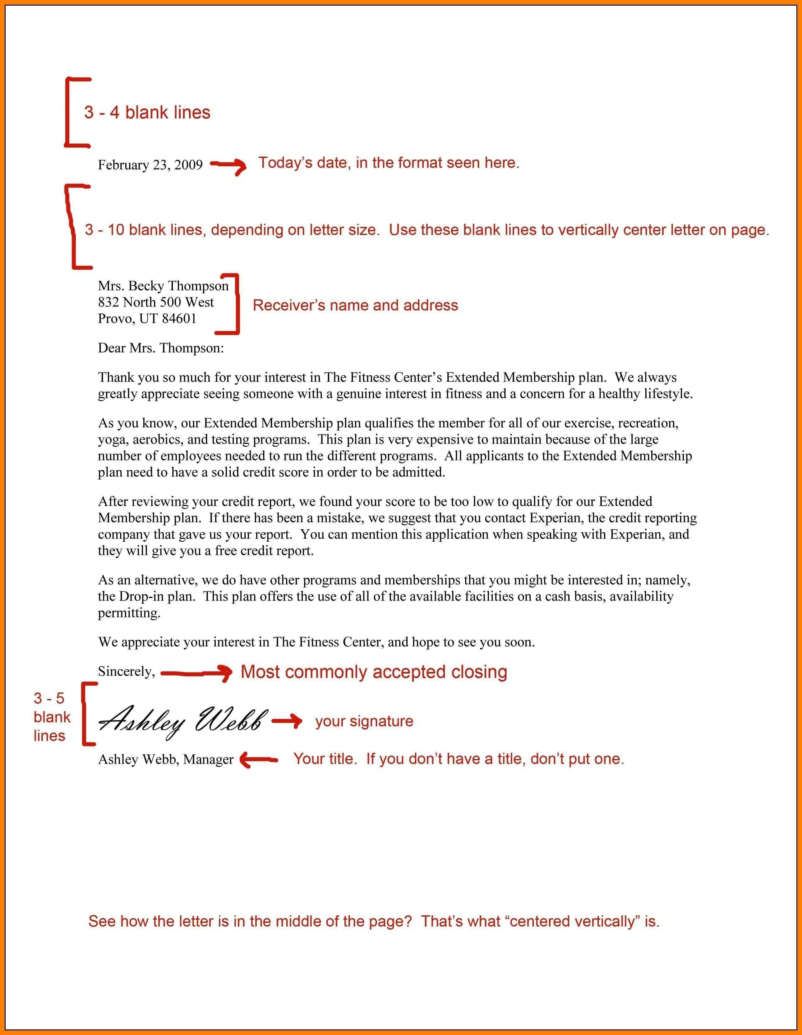 27 Cover Letter Spacing Resume Cover Letter Example Writing