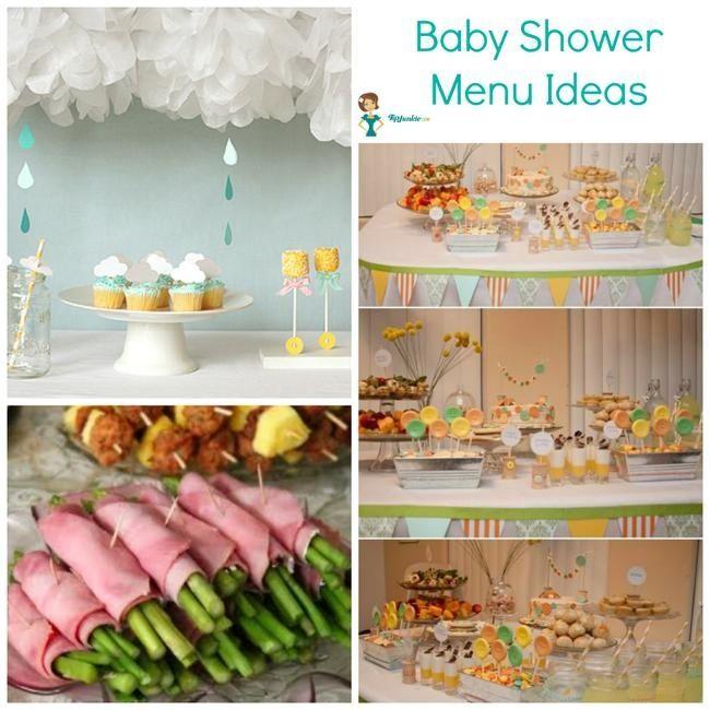 Yummy Baby Shower Menu Ideas