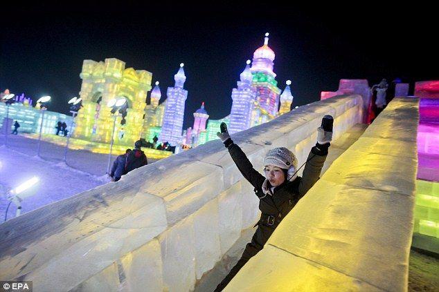 Harbin Ice and Snow Festival, China.