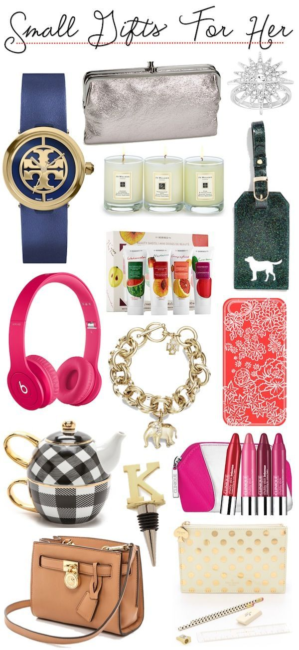 Gift Guide | Small Gifts For Her (at various price points ...