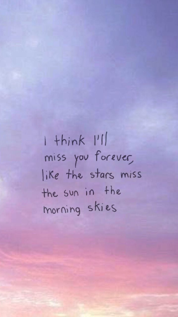 Sad I Miss You Quotes For Friends: Best 25+ I Miss You Wallpaper Ideas On Pinterest