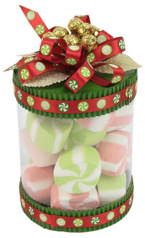 Bote navide o dulcero bombones navidad 2014 adorno for Decoracion christmas navidenos