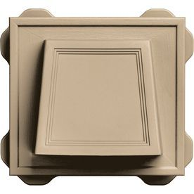 Builders Edge 6 6875 In X 7 375 In Mounting Block 140116774069 With Images Builders Edge Dryer Vent Mounting Blocks