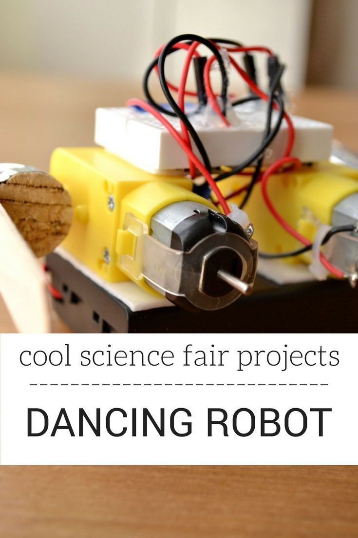 Need a cool science fair project? Make a dancing robot