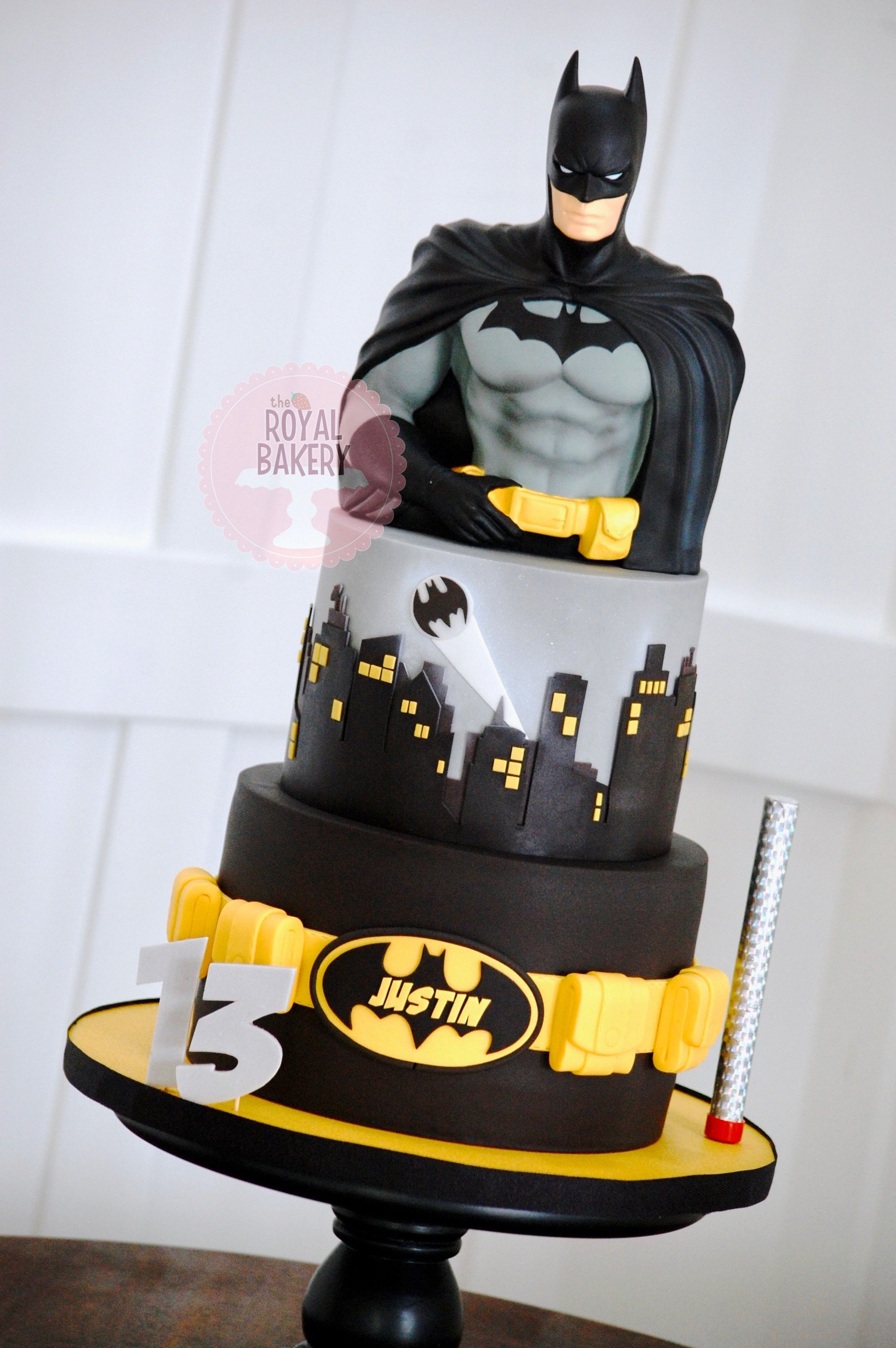 Super Batman Bust Is A Money Box With Images Batman Birthday Cakes Personalised Birthday Cards Veneteletsinfo
