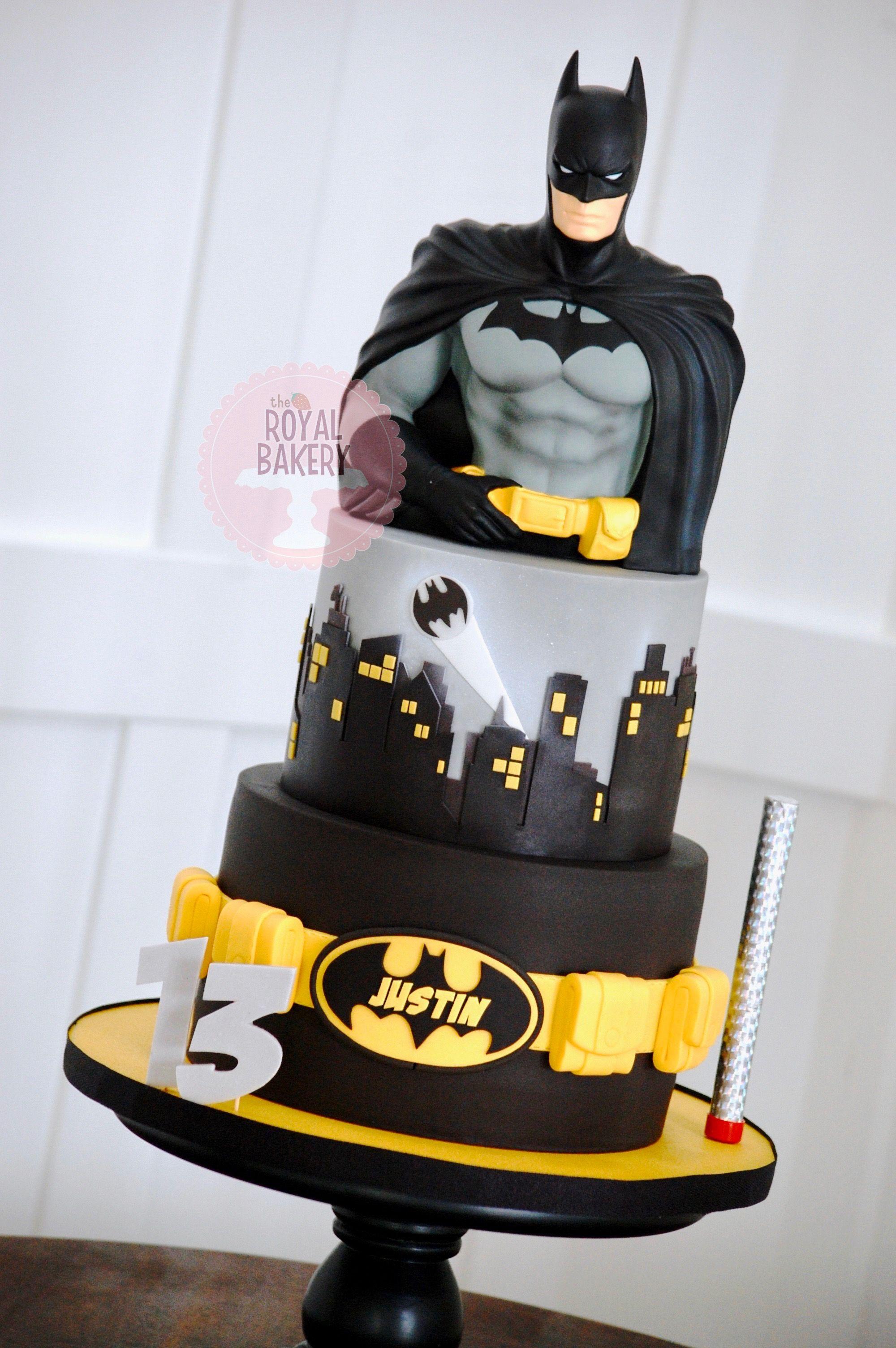 Batman cake batman birthday cakes superhero birthday