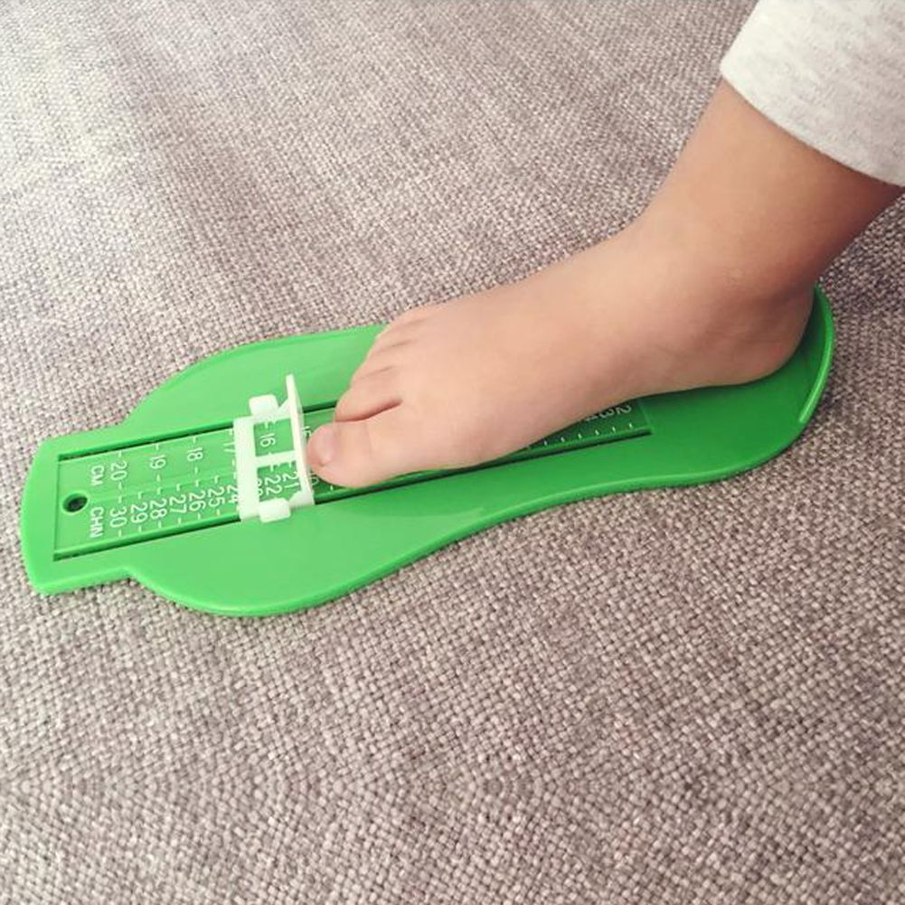 Foot Measure Gauge Kid Infant Feet Size Measure Ruler Tool Toddler Shoe Fitting