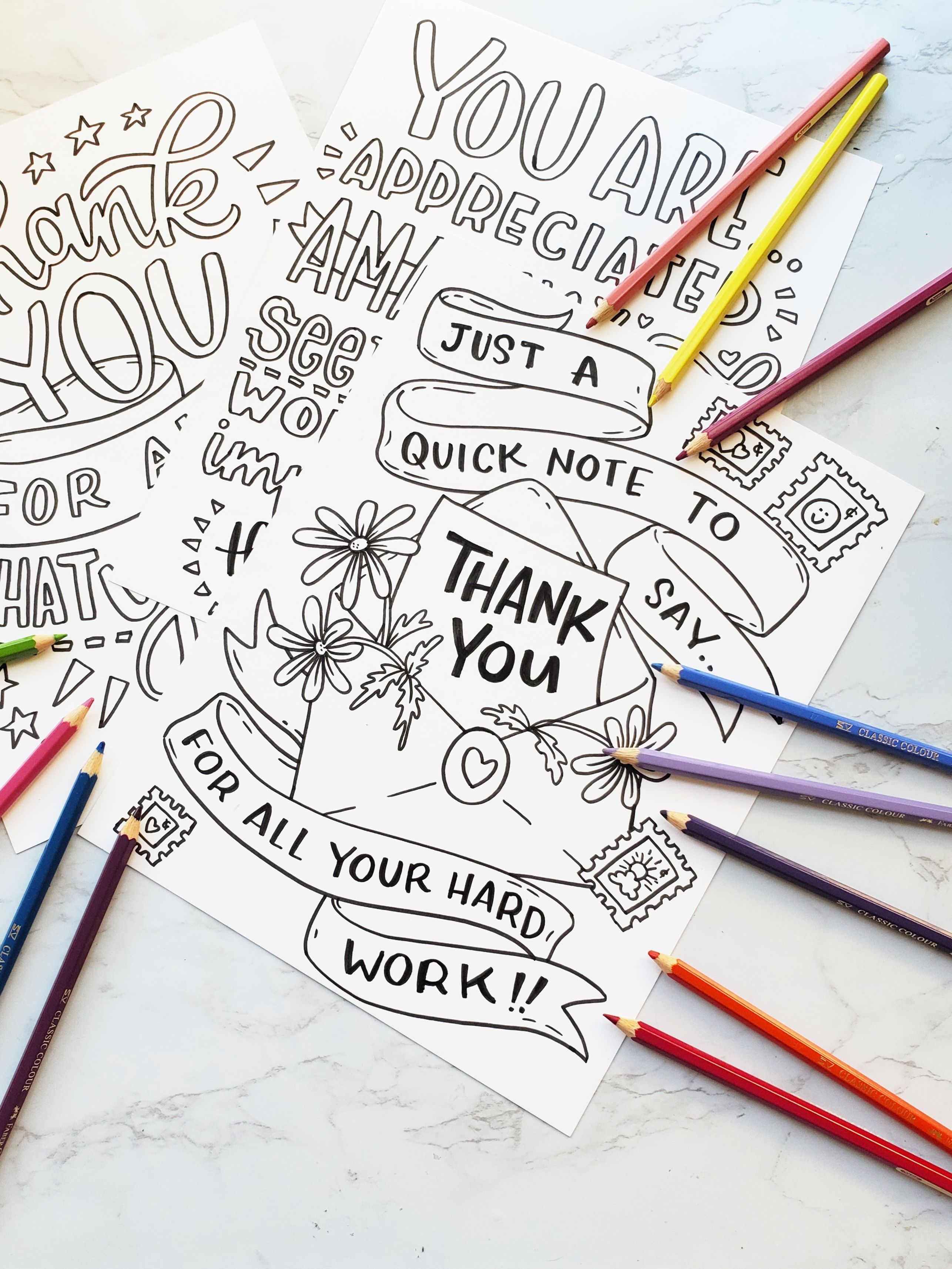 Essential Worker Thank Yous Coloring Pages In 2021 Coloring Pages Free Coloring Pages Kindergarten Coloring Pages
