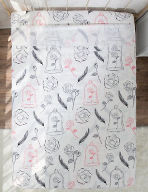 Best Beauty And The Beast Disney Trademark Full Size Bed Sheet 640 x 480