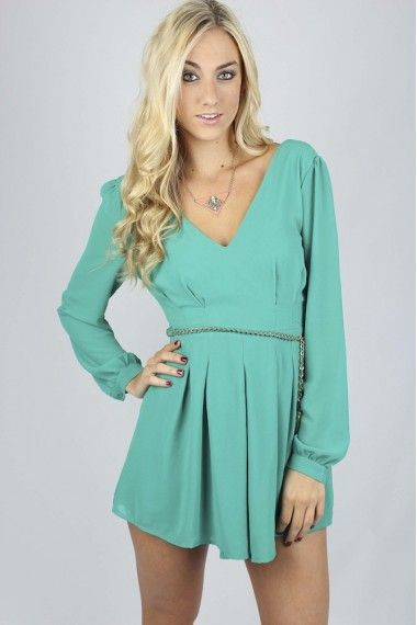 Emerald Belted Romper $34.99 #emeraldromper #stpatricksday #stpattysdaylook #sophieandtrey #freeshipping