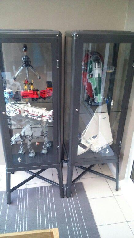 Lego Display Using Ikea Cabinet S I Wanted Something