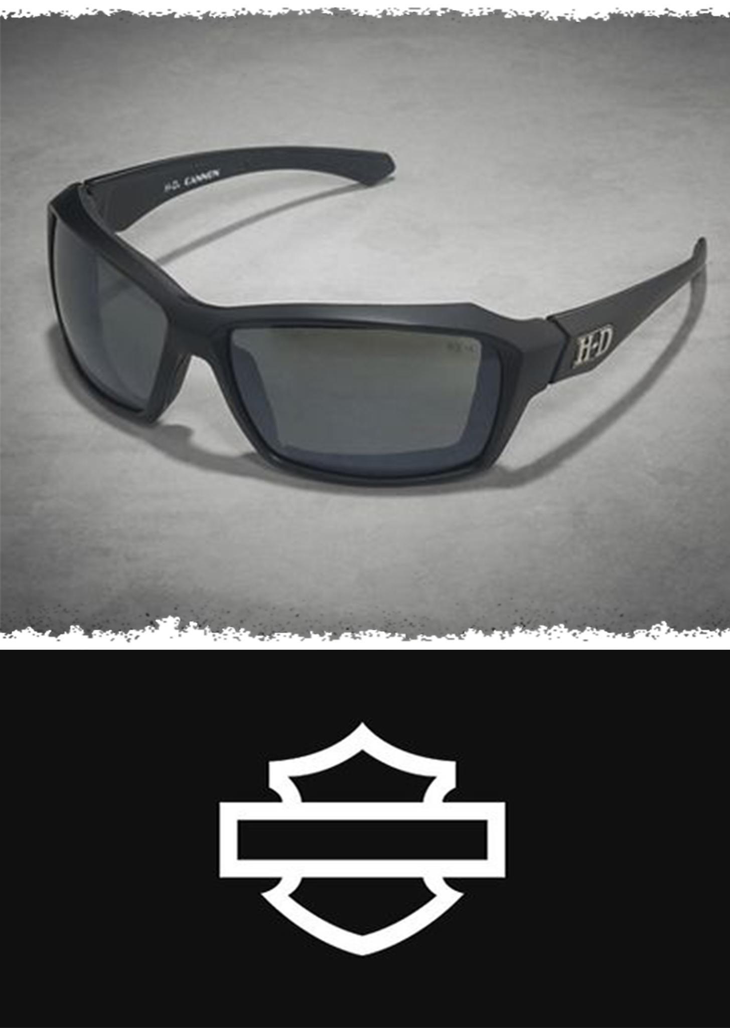 57a112a3e92d Cannon Silver Flash Performance Sunglasses | H-D Gear For Him ...