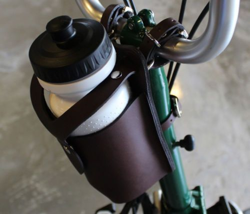 Ba Sport Bicycle Leather Bottle Holder Water Bottle Cage For Brompton Bottle Holders Brompton Leather