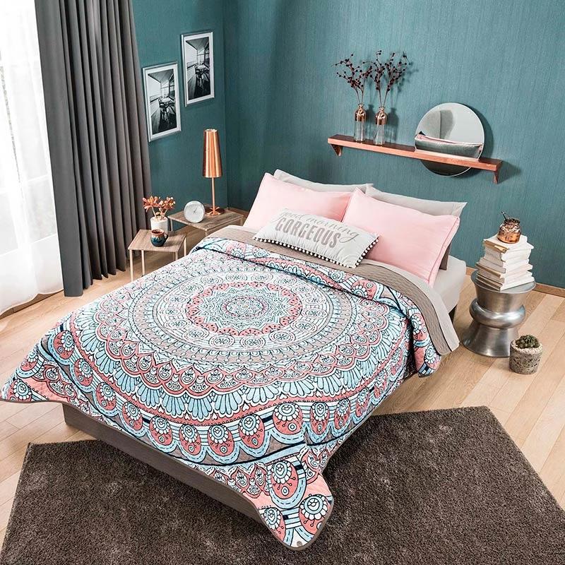 Thailand Mandarla Reversible Comforter Set | Bedroom decor ... on Boho Bedroom Ideas On A Budget  id=35978