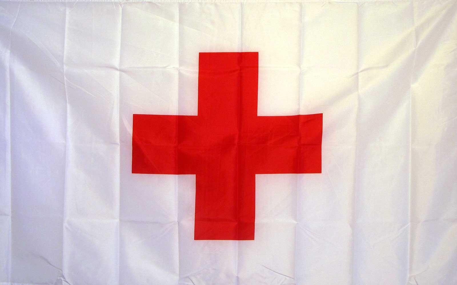 International Red Cross Historical 3 X 5 Flag Red Cross Flag International Red Cross