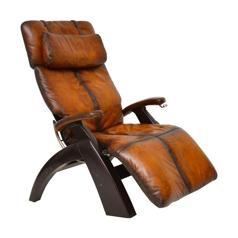 The Perfect Chair Retro Leather Zero Gravity Reclining Armchair In 2020 Reclining Armchair Perfect Chair Leather Armchair Modern