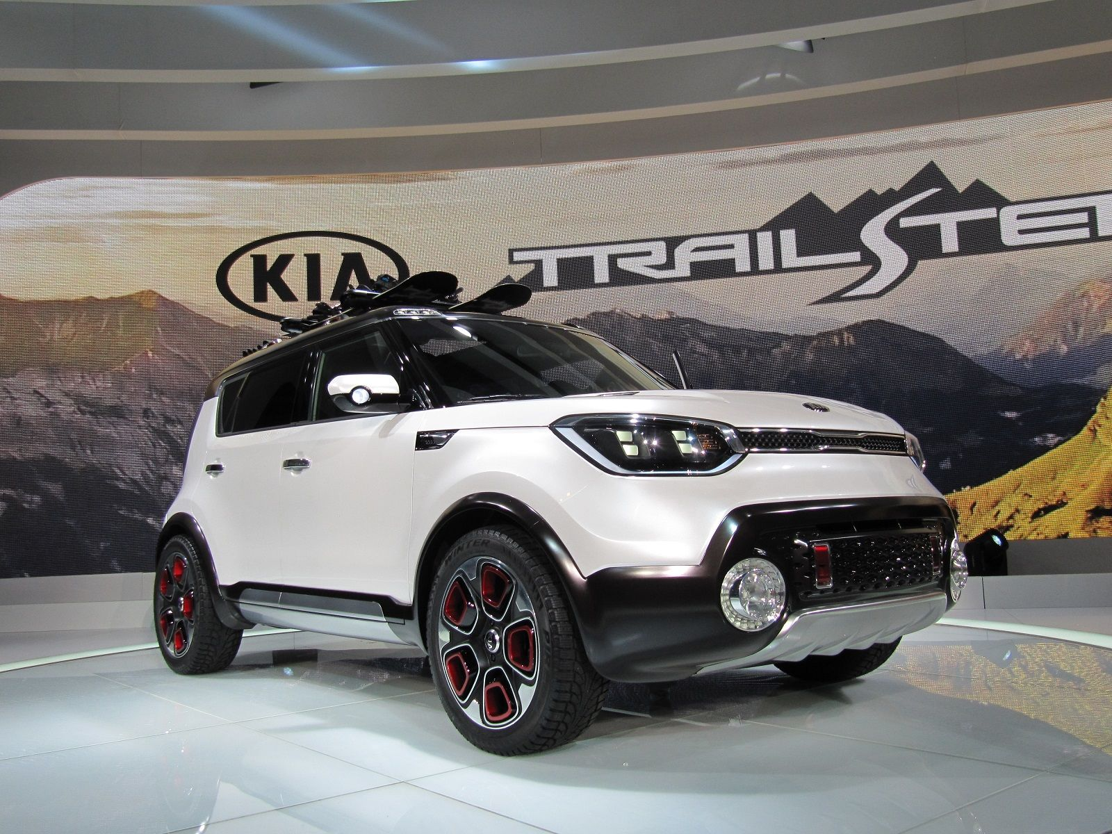 Kia Soul Based Trail Ster Concept Features Electric Awd Live Photos From Chicago Auto Show Kia Soul Kia Awd