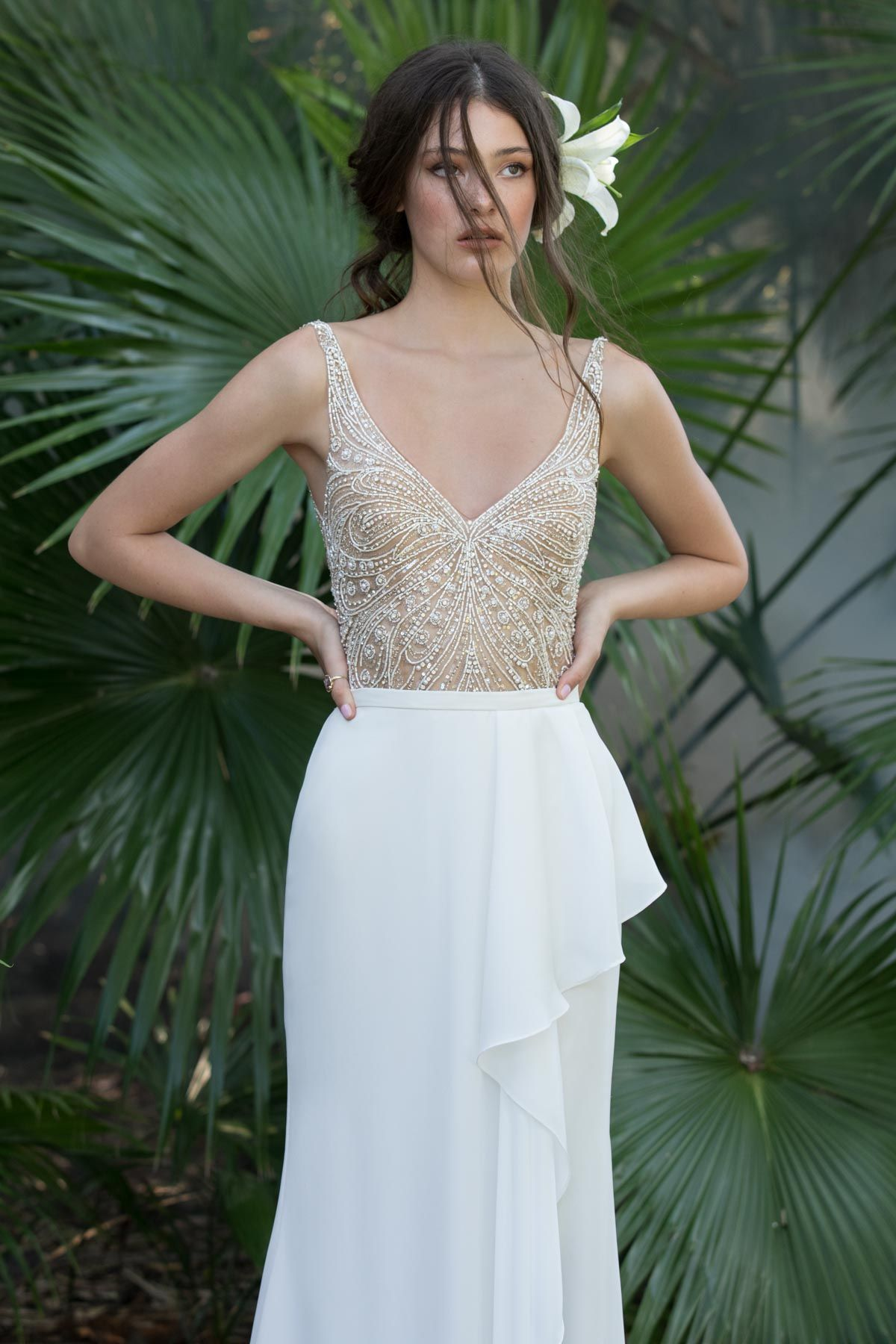 0d4cafcde01a1a Fladdra Bodysuit 59601 | Willowby Brides | Willowby | wedding in ...