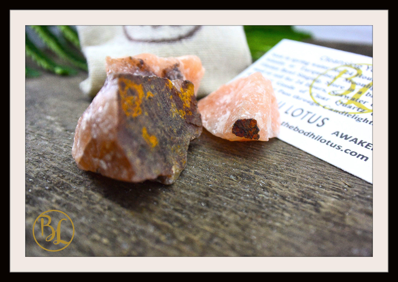 18+ RAW RED AVENTURINE Gemstone 3 Piece Set Healing Raw Red Aventurine Crystal Kit Intention Stone Set Lithiotherapy Healing Raw Red Aventurine