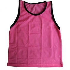 Youth Sports Pinnie Scrimmage Training Vest - pink - CE11JOI4E1R - Sports & Fitness Clothing Boys Sh...