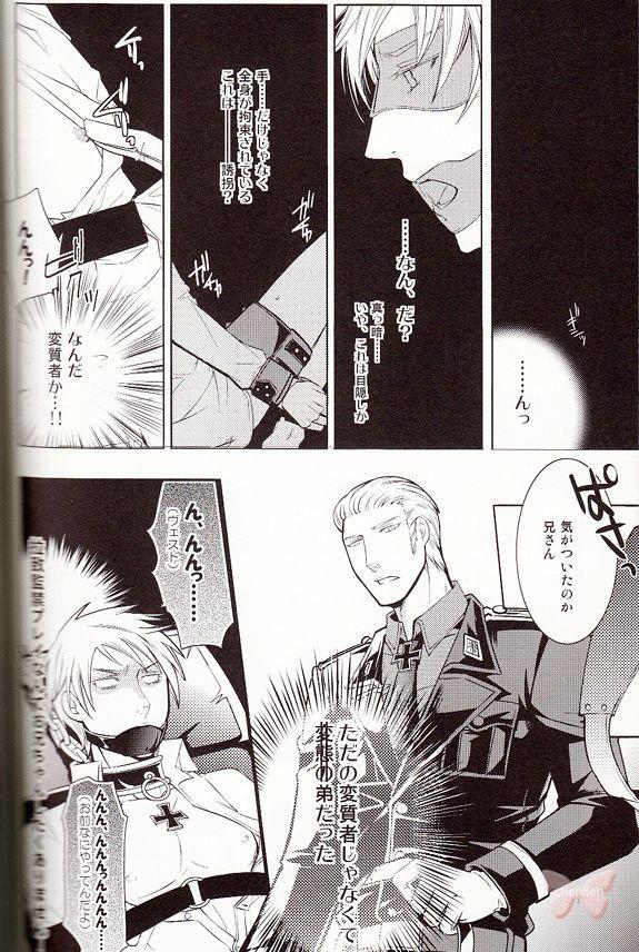 Hetalia Axis Powers YAOI Doujinshi - Thorny Path (Germany x Prussia