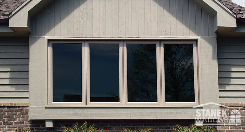 These Four Lite Cat Windows In The Clay Color Match Exterior Of Home Learn More