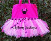Minnie Mouse Tutu Tote bag