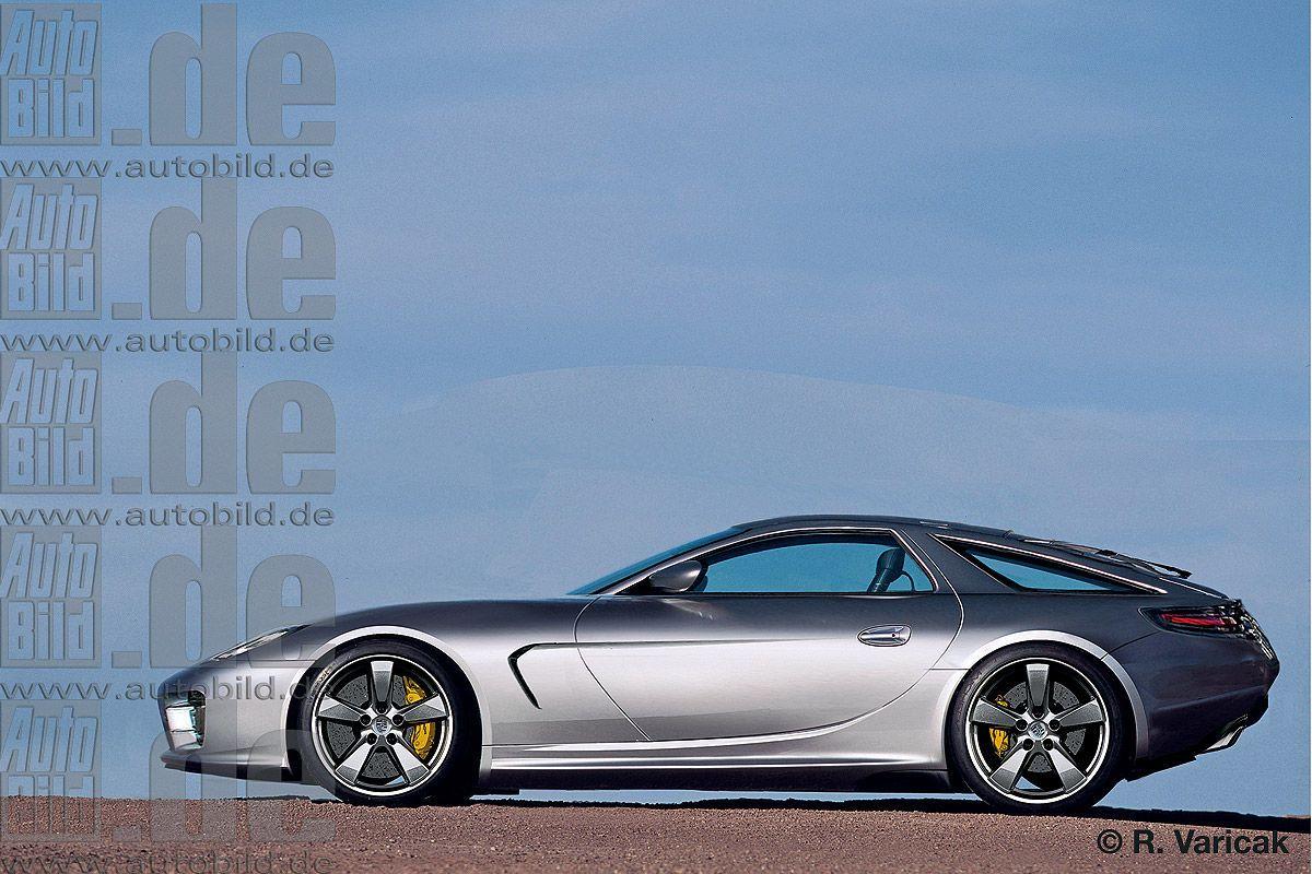 Illustration Porsche 928
