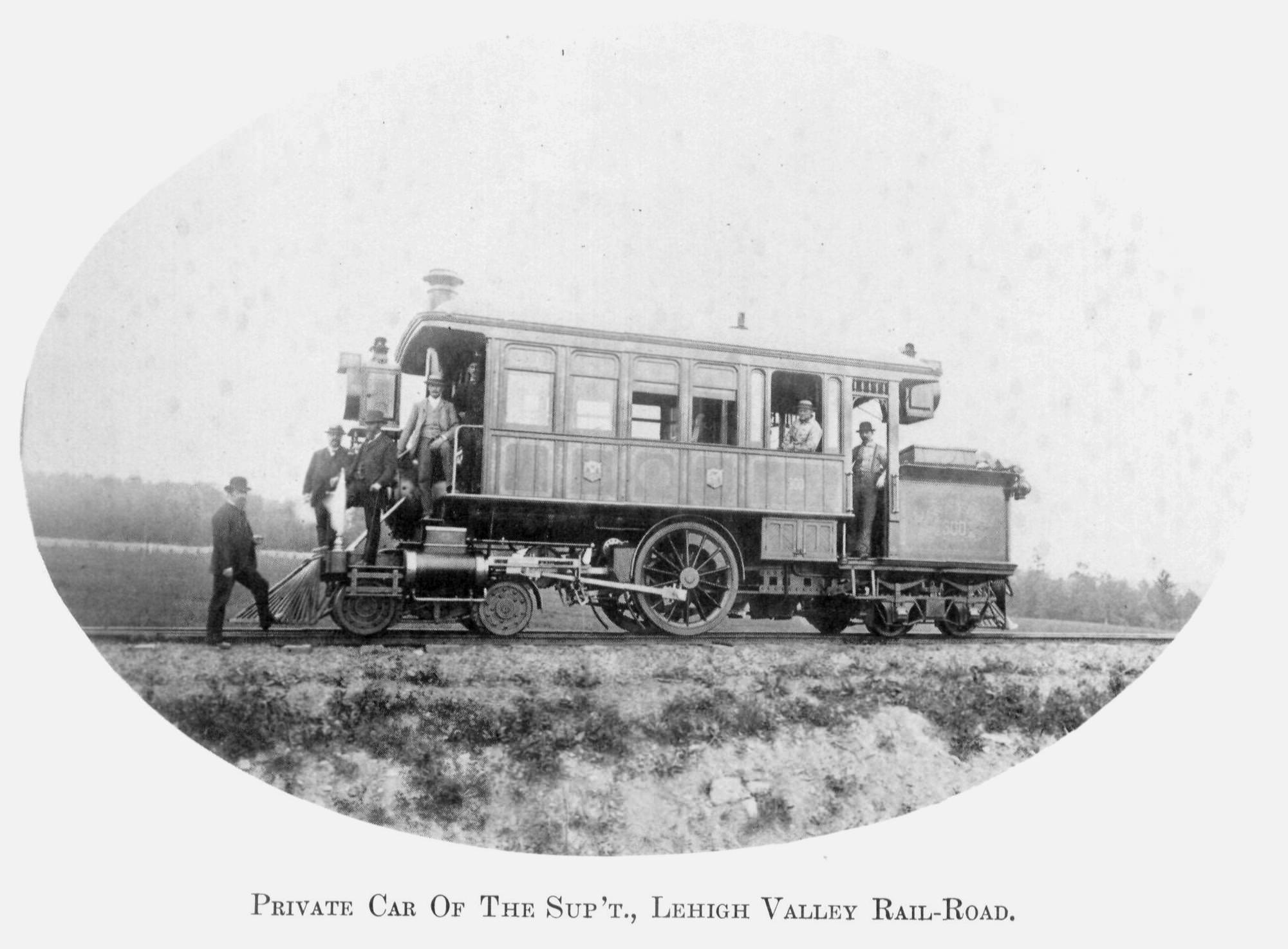 "Lehigh Valley Railroad 424 inspection engine ""Dorothy"