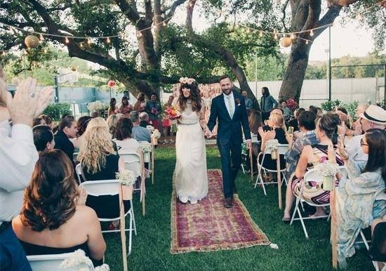 Oriental Carpet Wedding Aisle Runner Google Search