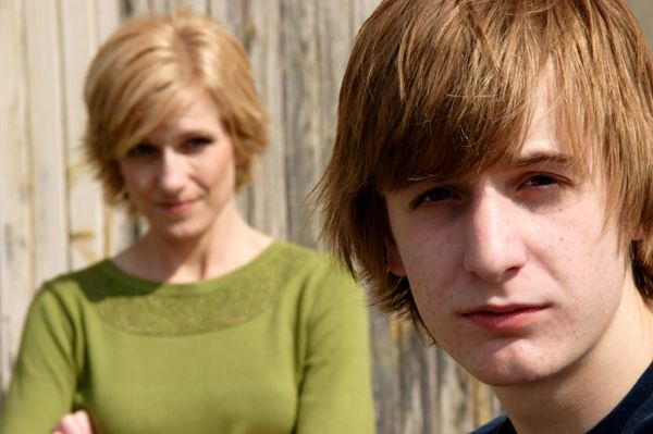 Mom And Teenage Son