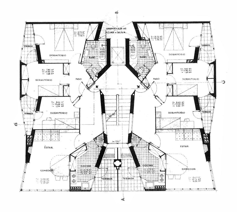 Galer a de cl sicos de arquitectura instituto social de - Colegio arquitectos barcelona ...