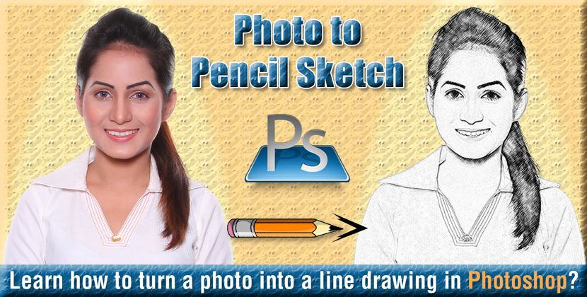 How to Turn a Picture into a Line Drawing in