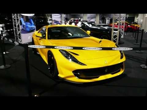 Custom Yellow Ferrari California - Forgiato Wheels - 2018 ...