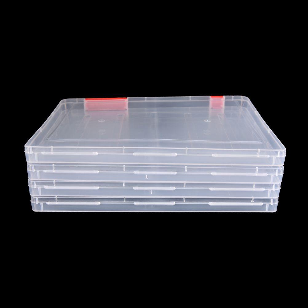 Plastic Clear Transparent Storage Box Multipurpose Display Box Case Holder Hot