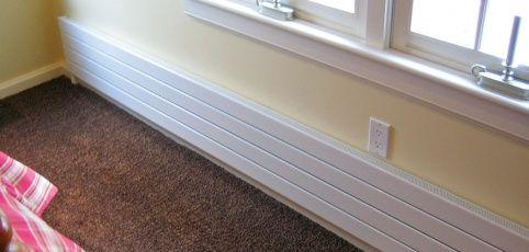 Hot Water Radiant Wall Panels From Runtal Is Part Baseboard Panel
