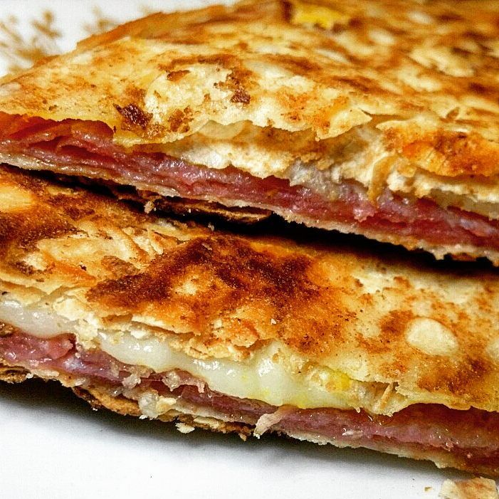cutdacarb crispy salami and provolone melts  recipes macro friendly recipes salami recipes